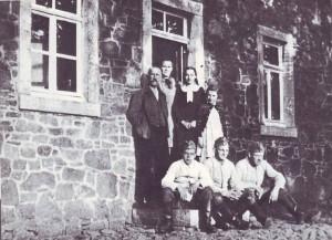 RE-1-Seite17-Familie Hubert Roentgen mit Einquartierung Mai 1940