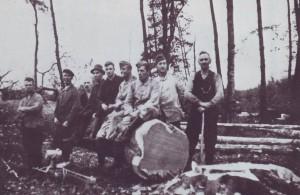 RE-1-Seite30-Rodung für den Platz des Arbeitslagers in Kleebend