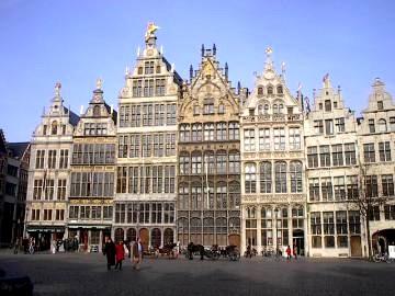 Gildehäuser in Antwerpen