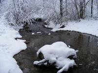 Foto 17 - Vichtbach im Schnee